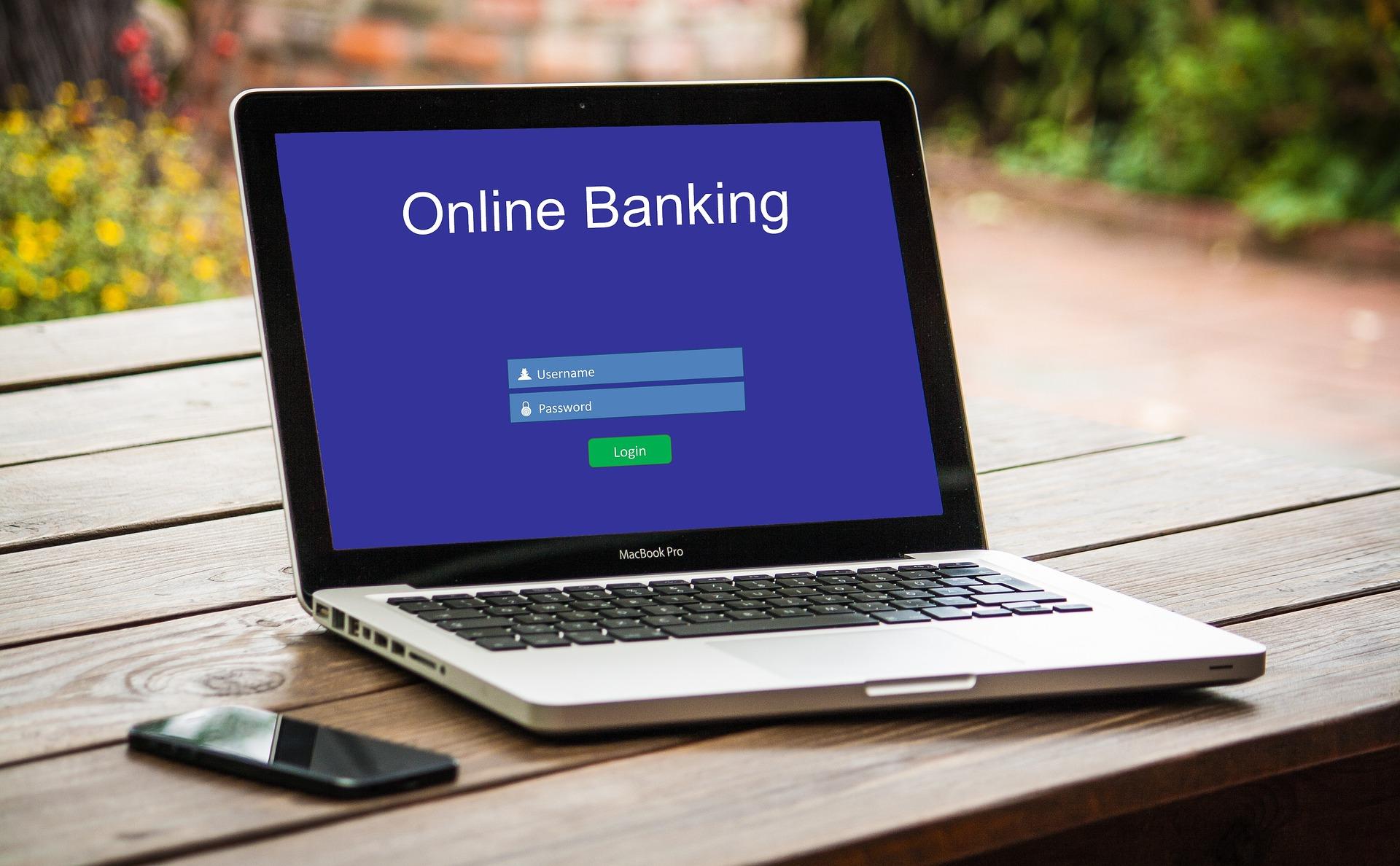 online bank computer